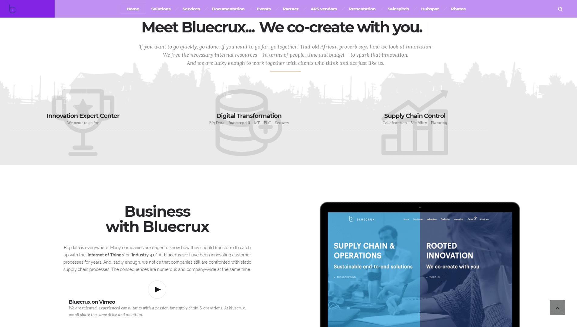 Intranet Portal Bluecrux