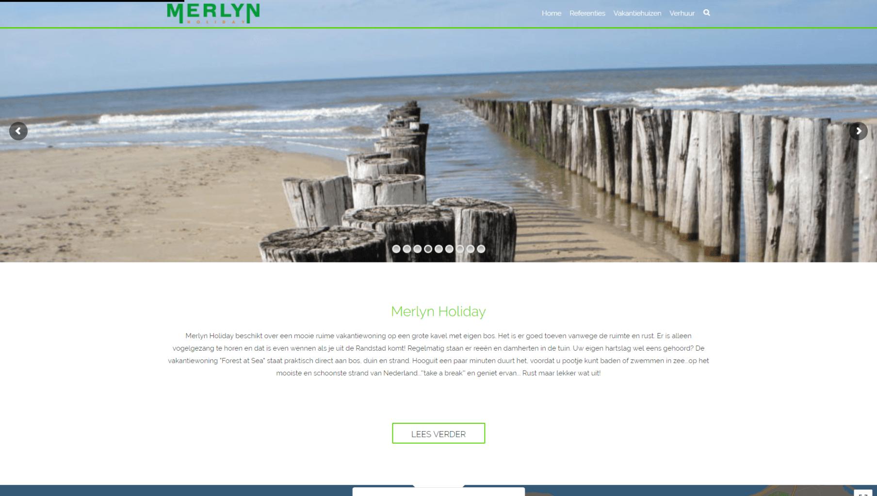 Website Merlyn Holiday
