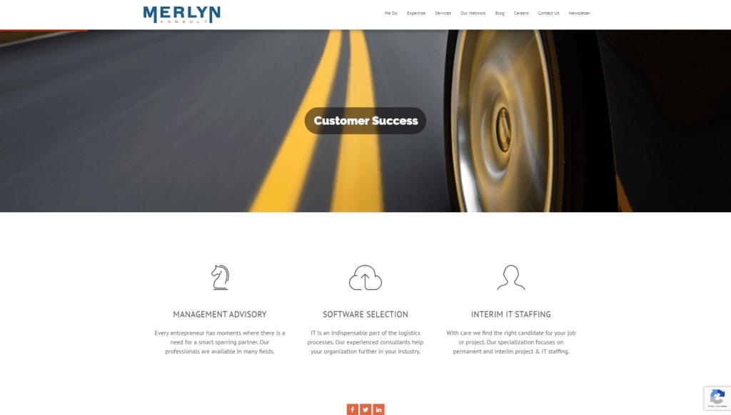 Website Merlyn Consult